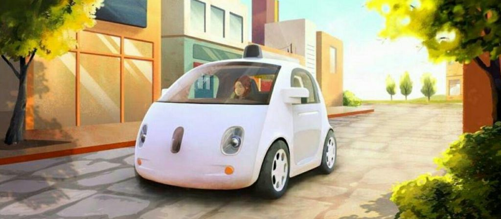 خودرو خودران گوگل